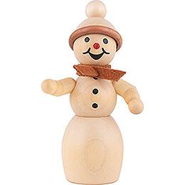 Schneefrau mit Schal  - 10 cm