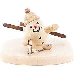 Schneemann Biathlon liegend - 5 cm