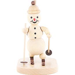 Schneemann Biathlon stehend - 12 cm