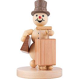 Schneemann auf Reisen - 12 cm
