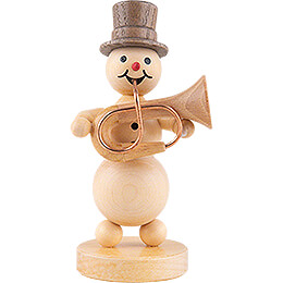 Schneemannmusikant Basstrompete - 12 cm