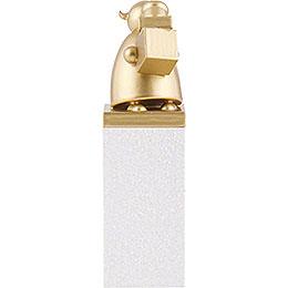 Schutzengel Gold mit Päckchen - 8 cm