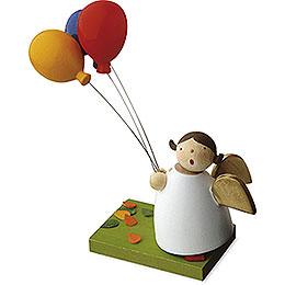Schutzengel mit 3 Luftballons - 3,5 cm