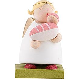Schutzengel mit Baby - Mädchen - 3,5 cm