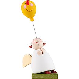 Schutzengel mit Luftballon mit Gesicht - 3,5 cm