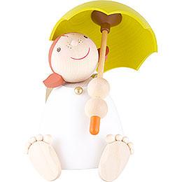 Schutzengel mit Schirm - 16 cm