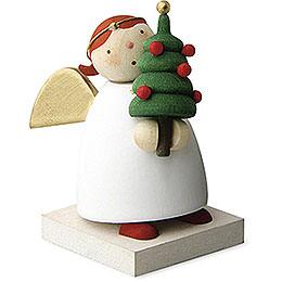 Schutzengel mit Weihnachtsbäumchen - 3,5 cm
