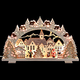 Schwibbogen Adventszeit - 53x31x4,5 cm
