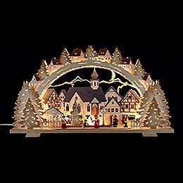Schwibbogen Adventszeit - 72x41x7 cm