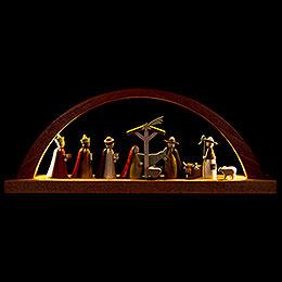 Schwibbogen Christi Geburt - 40x16 cm