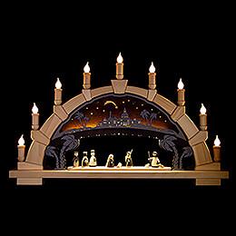 Schwibbogen Christi Geburt - 66x40 cm