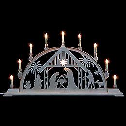 Schwibbogen Christi Geburt - 78 cmx42 cm