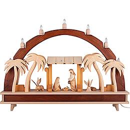Schwibbogen Heilige Familie - 70x51 cm