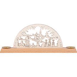 Schwibbogen Weihnachtsmotiv - 29x8 cm