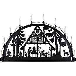Schwibbogen für Außen Waldhaus - 100-300 cm