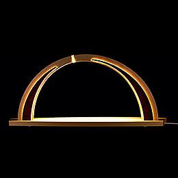 Schwibbogen modern wood - ohne Bestückung - 57x26 cm