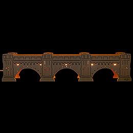 Schwibbogenerhöhung Augustusbrücke - 54,5x11,5 cm