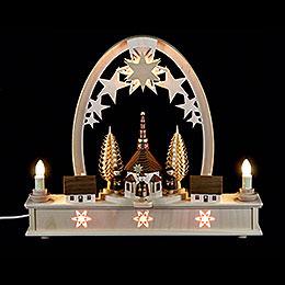 Seidel Arch Carol Singers - 36x31 cm / 14x12 inch