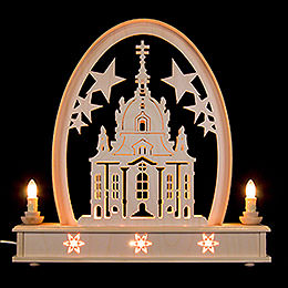 Seidel Arch Church of Dresden - 36x31 cm / 14x12 inch