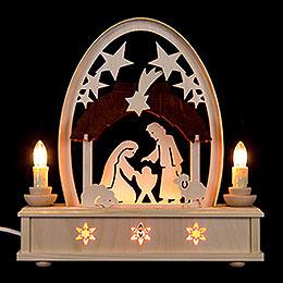 Seidelbogen Christi Geburt - 25 cm