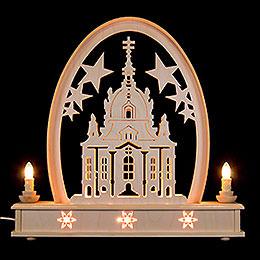 Seidelbogen Frauenkirche - 36 cmx31 cm