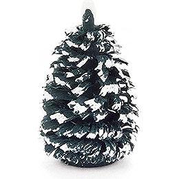 Seiffen Spruce - Green-White - 4 cm / 1.6 inch
