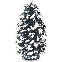 Seiffen Spruce - Green-White - 6 cm / 2.4 inch