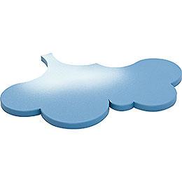 Seitenwolke für Schneeflöckchen - 22x16 cm