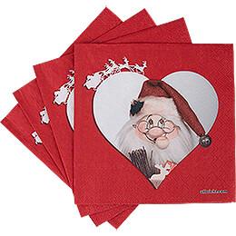 Servietten Wichtel Weihnachtsmann - 20 Stück
