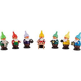 Seven Dwarves - 6 cm / 2.4 inch