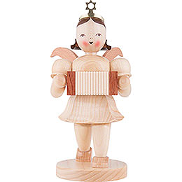 Shortskirt Angel Natural, with Harmonica - 20 cm / 7.8 inch