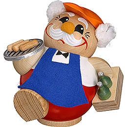 Smoker - BBQ Man - Ball Figure - 12 cm / 5 inch