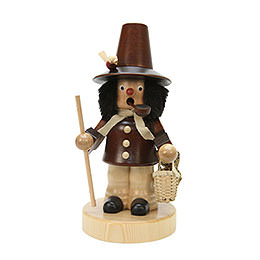 Smoker - Basket Salesman Natural Colors - 20,5 cm / 8 inch