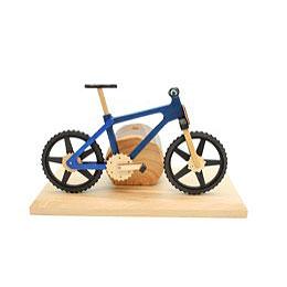 Smoker - Bicycle EBM Blue 20x9x14 cm / 8x4x6 inch