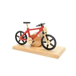 Smoker - Bicycle EBM Red 20x9x14 cm / 9x4x6 inch