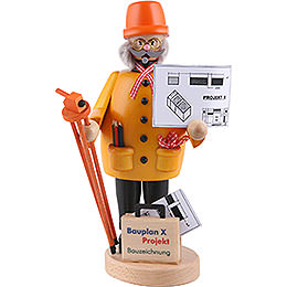 Smoker - Construction Manager - 22 cm / 8.7 inch