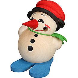 Smoker - Cool-Man with Ski and Pot - Ball Figure - 9 cm / 3.5 inch
