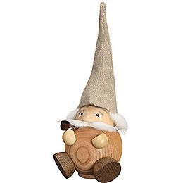 Smoker - Forest Dwarf natural - Ball Figure - 19 cm / 3.5 inch