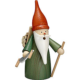Smoker  -  Forest Gnome  -  16cm / 6 inch