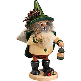 Smoker - Forest Gnome Hiker, Green - 25 cm / 10 inch