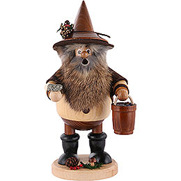 Smoker - Forest Gnome Ore Gatherer, Natural - 25 cm / 9.8 inch