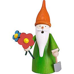 Smoker - Garden Gnome - 16 cm / 6 inch