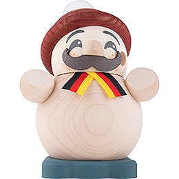 Smoker - German Guy - Ball Figure - 9 cm / 3.5 inch