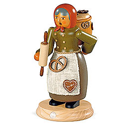 Smoker - Gingerbread Salesman - 25 cm / 10 inch