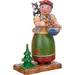 Smoker - Gingerbread Witch - 20 cm / 7.9 inch