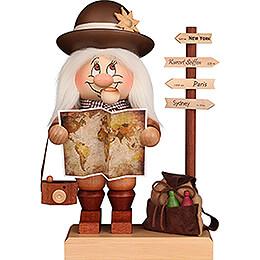 Smoker - Gnome Globetrotter - 29,5 cm / 11.6 inch
