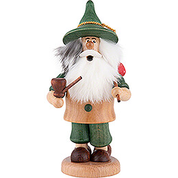 Smoker - Gnome Hiker Green - 17 cm / 6.7 inch