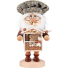 Smoker - Gnome Insect Lover - 28 cm / 11 inch