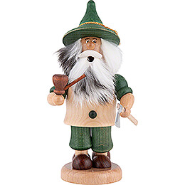 Smoker - Gnome Lumberjack Green - 17 cm / 6.7 inch