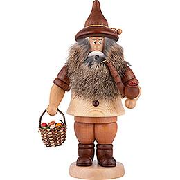 Smoker - Gnome Mushroom Gatherer - 24 cm / 9.4 inch